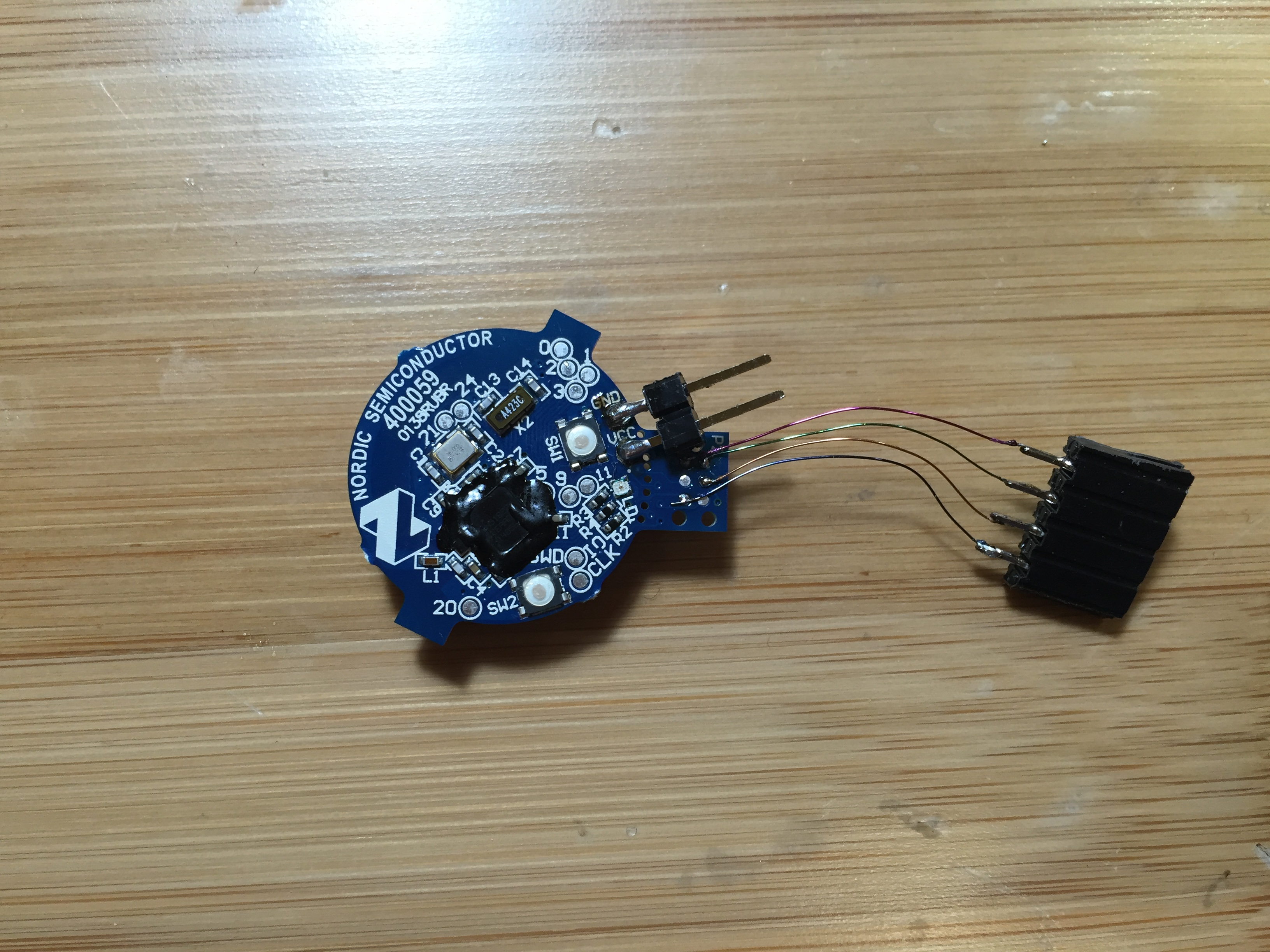 BLE application with nRF51822: Firmware flashing – DIY IOT